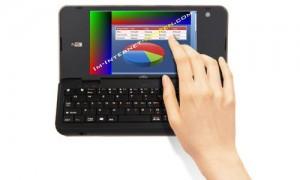 Viliv N5 - Der kleinste Laptop der Welt