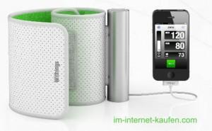 Blutdruckmessgerät fürs iPhone