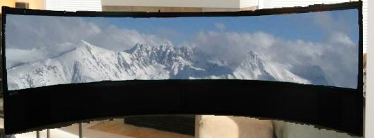 Ultra-wider Fernseher