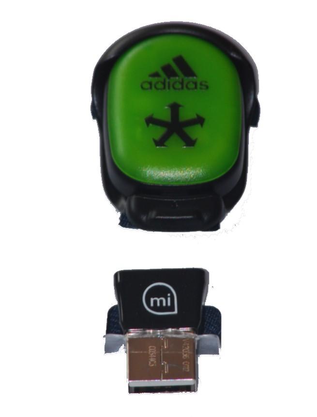 Sportschuhe mit Telemetrie Chip